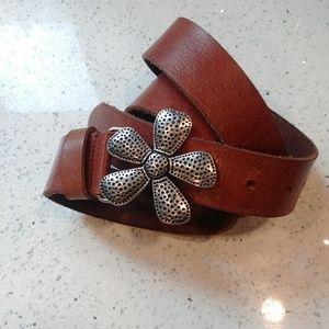 Genuine Italian Leather belt.